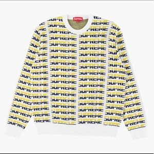 Supreme repeat sweater🔥